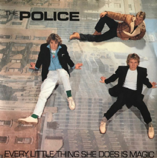 "Police (The) ‎- Every Little Thing She Does Is Magic (7"") (EX/VG)"